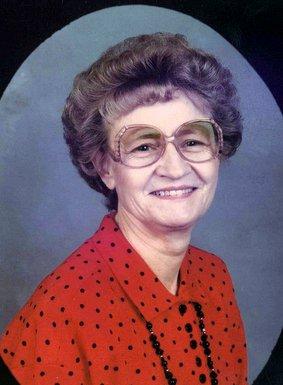 """Ethel Virginia """"Billie"""" Hickman Barton"""