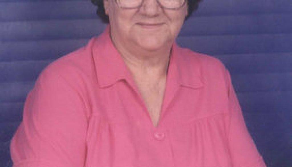 Bertha Elnora Webb