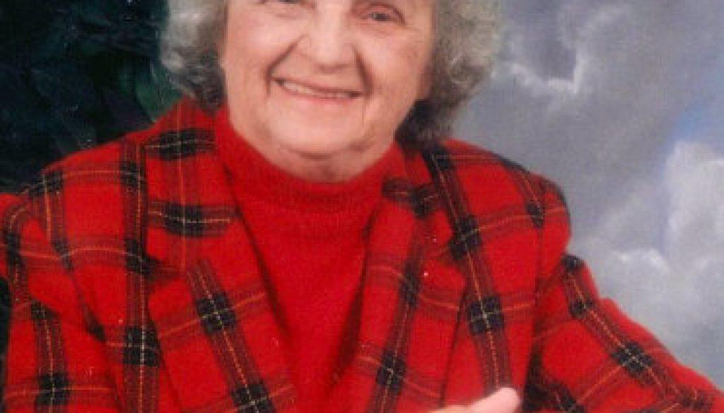 Ruby Elvira Baxter